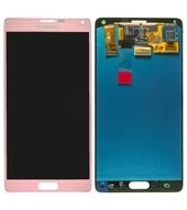 Display LCD + Toucheinheit pink N910F Galaxy Note 4