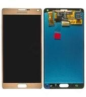LCD + Touch für N910F Samsung Galaxy Note 4 - gold