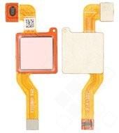 Fingerprint Sensor + Flex für Xiaomi Redmi Note 5 - rose gold
